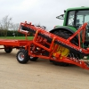 BORO XD DL with pallet trailer